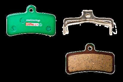 Picture of Pastilhas Disc Swisstop Shimano SAINT BR-M820 / BR-M810 / ZEE BR-M640 / XT BR-M8020 / TRP Quadiem / Quadiem SL / Slate T4 - 27