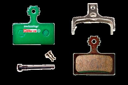 Picture of Pastilhas Disc Swisstop Shimano XTR BR-M9000/BR-M9020/BR-M987/BR-M988/BR-M985/ XT BR-M8000/BR-M785/ SLX BR-M7000/BR-M675/BR-M666/ ALFINE BR-S700/ DEORE BR-M615/ BR-RS785/ BR-R785/ BR-CX75/ BR-R515/ BR-R315/ FSA K-Force DB-TX-9000/ Afterburner DB-TX-9150/ REVER MCX1 - 28