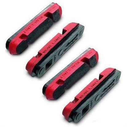 Picture of Calços de travao vermelhos p/aros carbono Campagnolo (4pcs)