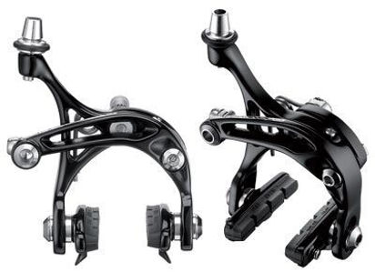Picture of Travões CAMPAGNOLO BLACK SKELETON (2pivot frt+trs)