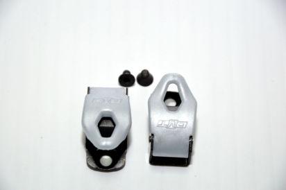 Picture of Fechos milimétricos preto/cinza (par)