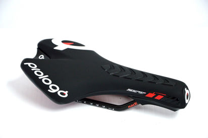 Picture of Selim Prologo Zero TT Nack slide control - preto soft/vermelho