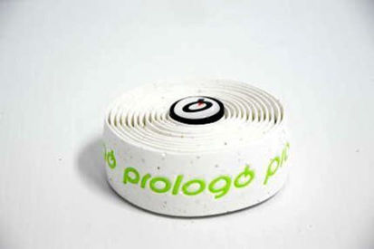 Picture of Fita de guiador Prologo PlainTouch branco c/ logo verde