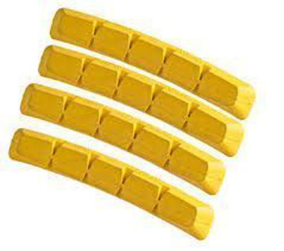 Picture of Calços Swisstop RX Plus (4 pcs) Yellow King