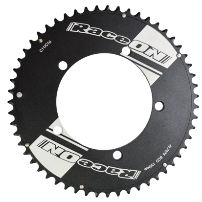 Picture of Roda Pedaleira Time Trial 10/11v 7075 CNC Black BCD 130x53T