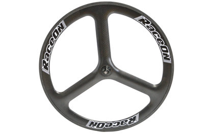Picture of Roda 3 Spokes Carbon frente tubular