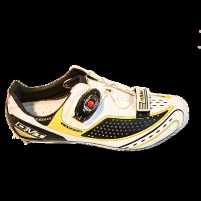Picture of Sapato FUSION branco/preto/amarelo - sola carbono