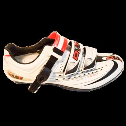 Picture of Sapato FLASH branco/vermelho - sola carbono