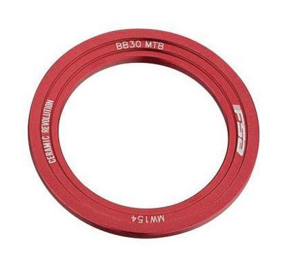 Picture of Espaçador FSA de ajuste BB30 MTB esquerdo - vermelho