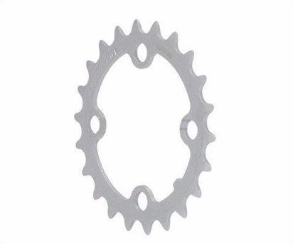 Picture of Roda pedaleira FSA cinza CNC 64x22T WC008
