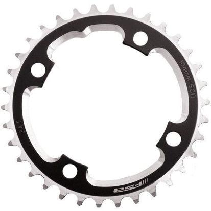 Picture of Roda pedaleira FSA DH preto, alumínio CNC 104x36T(3mm)