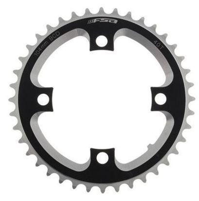 Picture of Roda pedaleira DH preto alumínio CNC 104x42T (3mm)