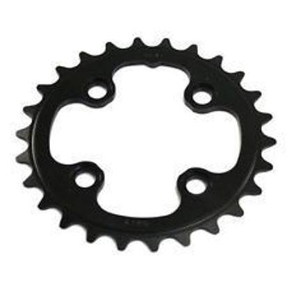 Picture of Roda pedaleira FSA MTB preta Alu WC074 - 64x26T 2x11