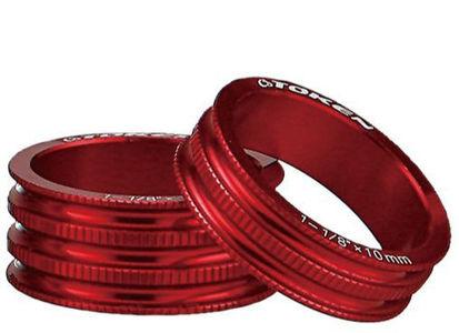 "Picture of Anilha Token alu. 10mm CNC 1""1/8 vermelha (unidade)"