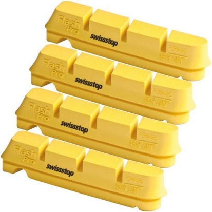 Picture of Calços Swisstop Flash Shimano/Sram (4 pcs) Yellow King
