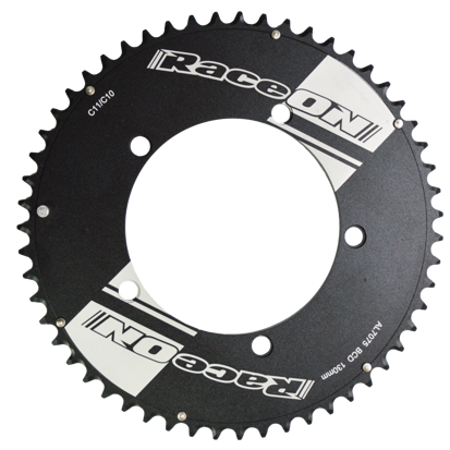 Picture of Roda Pedaleira Time Trial 10/11v 7075 CNC Black BCD 130x54T