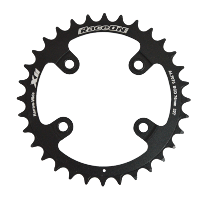 Picture of Roda Pedaleira MX Sram X11 CNC7075 11v BCD 76x34T