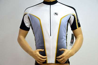 Picture of Camisola Giordana Tecnical Arts Roadster - branco/dourado