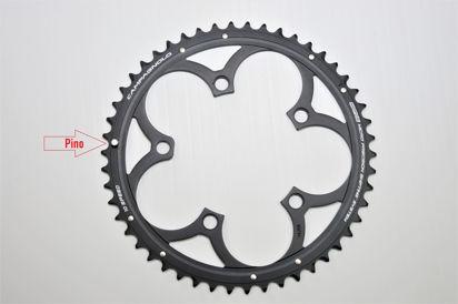 Picture of Roda pedaleira Centaur preta 110x50T 10v >2011