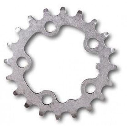 Picture of Roda pedaleira MTB 58x20T Inox prata 3x9v