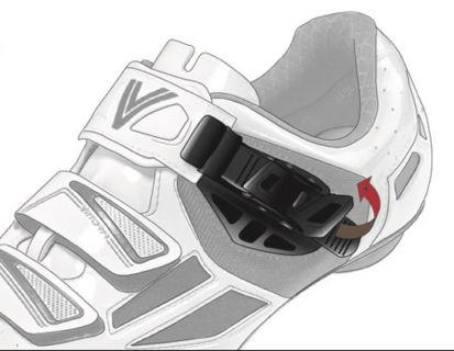 Picture of Fecho sapato microlock Vittoria CRS preto esquerdo (uni.)