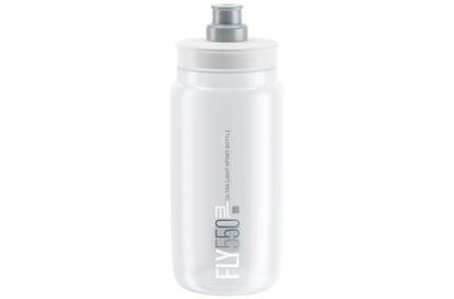 Picture of Bidon Elite Fly Transparente c/ logo cinza 550 ml