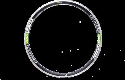 Picture of Aro RaceON A30 One Alu 24 furos pneu - trás verde