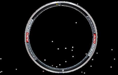 Picture of Aro RaceON A30 One Alu 20 furos pneu - frente vermelho