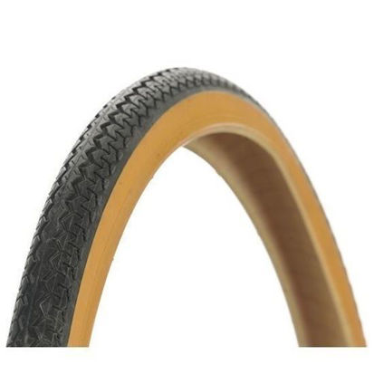 Picture of Pneu Michelin World Tour 650x35A 26x1.3/8 preto/beje - Arame