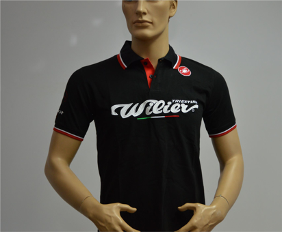 Picture of Polo Squadra Willier/Castelli M/C - Preto