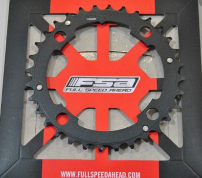 Picture of Roda pedaleira FSA MTb preto X10 alu 104x32t WB096 Afterburner