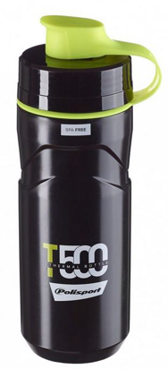 Picture of Bidon Térmico 500ml - Preto/Lima