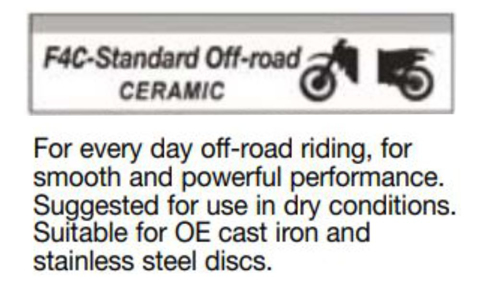 Picture for category F4C - STANDARD OFF-ROAD - CERAMIC