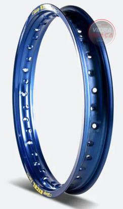 """Picture of Aro EXCEL trás 36 furos 2.15""""x19"""" Azul"""