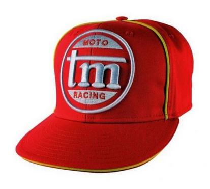 Picture of Boné com pala TM Racing VINTAGE - Vermelho