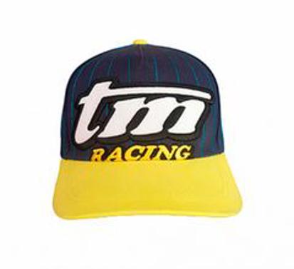 Picture of Boné com pala TM Racing - Azul/Amarelo