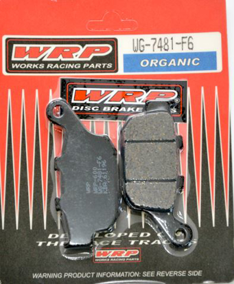 Picture of Pastilhas Travão Disco WRP  WG-7481-F6 - REAR