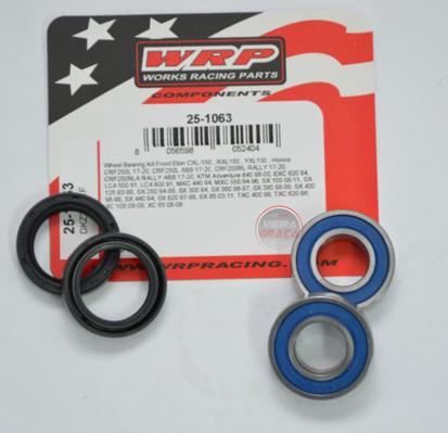 Picture of Kit Rolamentos + retentores roda WRP - WY-25-1063 - HONDA CRF, KTM - FRENTE