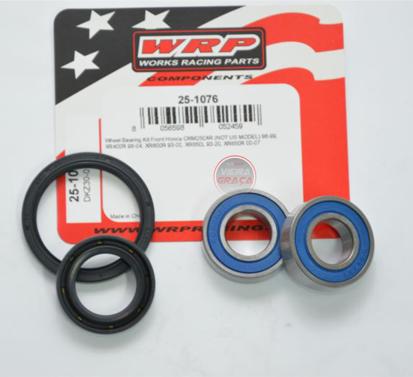 Picture of Kit Rolamentos + retentores roda WRP - WY-25-1076 - HONDA CRM250,XR400/650 - FRENTE