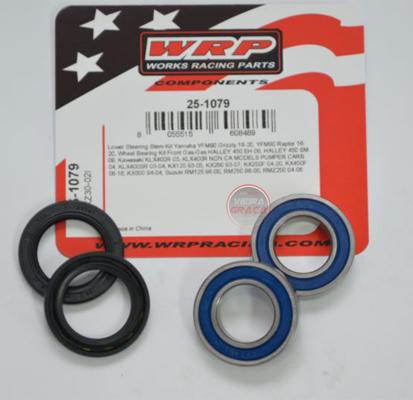 Picture of Kit Rolamentos + retentores roda WRP - WY-25-1079 - GAS-GAS HALLEY 450, KAWASAKI KX/KLX - FRENTE