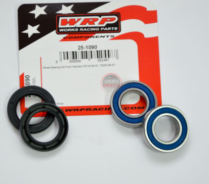 Picture of Kit Rolamentos + retentores roda WRP - WY-25-1090 - YAMAHA YZ 125-250 1996/1997 - FRENTE