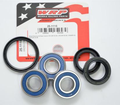 Picture of Kit Rolamentos + retentores roda WRP - WY-25-1115 - HONDA CR 125-250-480-500, 1983/1986 - TRÁS