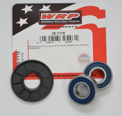 Picture of Kit Rolamentos + retentores roda WRP - WY-25-1119 - HONDA CR 125/250/450/480 - FRENTE