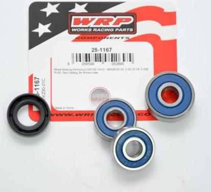 Picture of Kit Rolamentos + retentores roda WRP - WY-25-1167 - HONDA 50, KAWASAKI 75/80, SUZUKI
