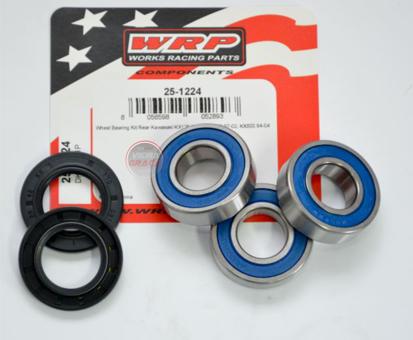 Picture of Kit Rolamentos + retentores roda WRP - WY-25-1224 - KAWASAKI KX 125-250 1997/2002 TRÁS