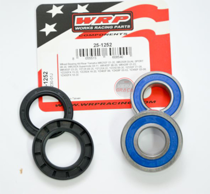 Picture of Kit Rolamentos + retentores roda WRP - WY-25-1252 - YAMAHA YZ/WR 400-450 - 1999/2020 - TRÁS