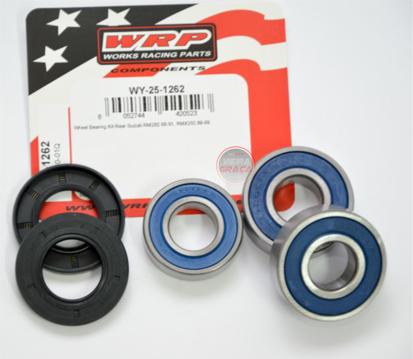 Picture of Kit Rolamentos + retentores roda WRP - WY-25-1262 - SUZUKI RM/RMX250 - TRÁS