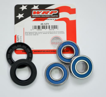 Picture of Kit Rolamentos + retentores roda WRP - WY-25-1271 - YAMAHA DT125 / YZ125-400 / WR200-500 - TRÁS