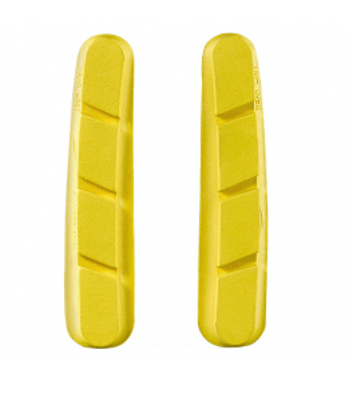 Picture of Calços travão MAVIC CXR Yellow Shimano Road 2pcs