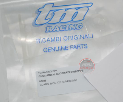 Picture of Junta base cilindro TM Racing  125 2T 0.05mm 2004/10